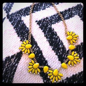 Yellow J. Crew Necklace